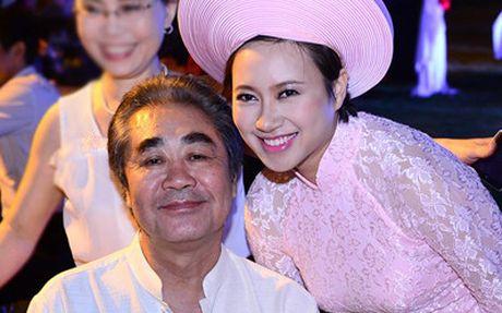 Khanh Linh tung duoc NSND Quang Tho 'cuu' su nghiep ca hat - Anh 1