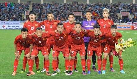 Chum anh: 25 tuyen thu Viet Nam du AFF Cup 2016 - Anh 1