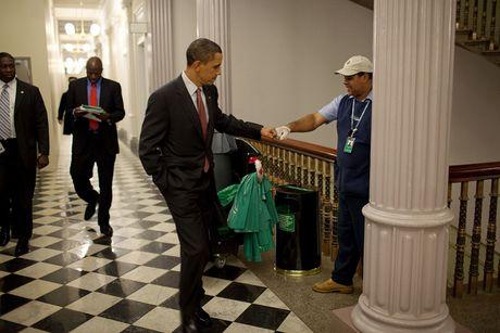 Nhung khoanh khac cuc ky dang yeu cua Tong thong My Barack Obama - Anh 2