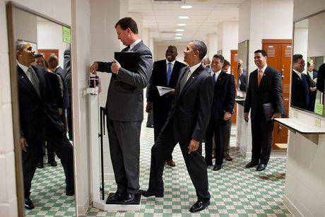 Nhung khoanh khac cuc ky dang yeu cua Tong thong My Barack Obama - Anh 4