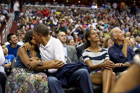 Nhung khoanh khac cuc ky dang yeu cua Tong thong My Barack Obama - Anh 5