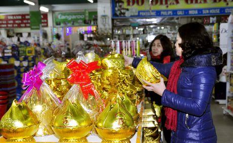 Luong hang hoa phuc vu Tet tai Thu do tang khoang 10% - Anh 1