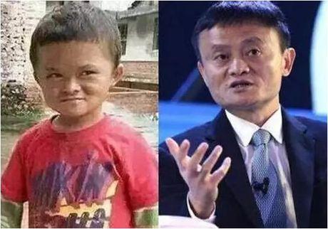 TQ: Cau be duoc 'quy nhan phu tro' vi qua giong Jack Ma - Anh 1