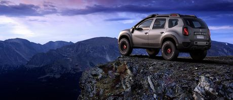 Renault trinh lang Sandero RS Grand Prix va Duster Extreme Concept - Anh 8