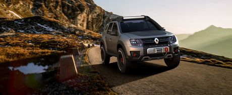Renault trinh lang Sandero RS Grand Prix va Duster Extreme Concept - Anh 9