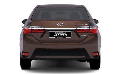 Chi tiet Toyota Altis moi sap ve Viet Nam - Anh 2