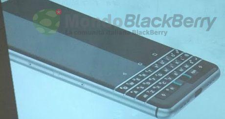 BlackBerry sap trinh lang smartphone voi ban phim vat ly - Anh 1