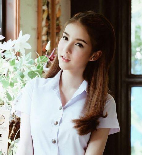 Ngam nguoi mau chuyen gioi Thai Lan xinh nhu thien than - Anh 10