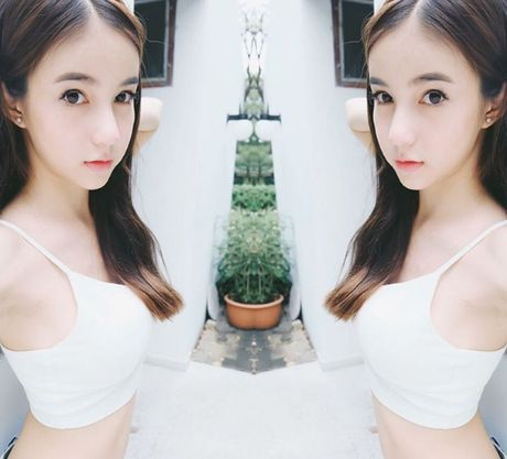 Ngam nguoi mau chuyen gioi Thai Lan xinh nhu thien than - Anh 8