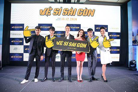 U60 Diem My quy phai trong showcase phim 'Ve si Sai Gon' - Anh 2