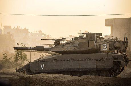 Trophy APS se giup xe tang Israel 'vo doi' tren chien truong? - Anh 1