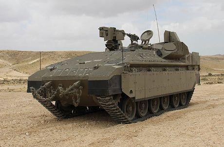 Trophy APS se giup xe tang Israel 'vo doi' tren chien truong? - Anh 6
