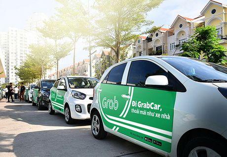 GrabCar duoc thu nghiem tai Da Nang - Anh 1