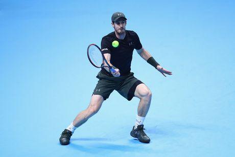 Murray va Nishikori cung thang trong tran ra quan ATP World Tour Finals 2016 - Anh 1
