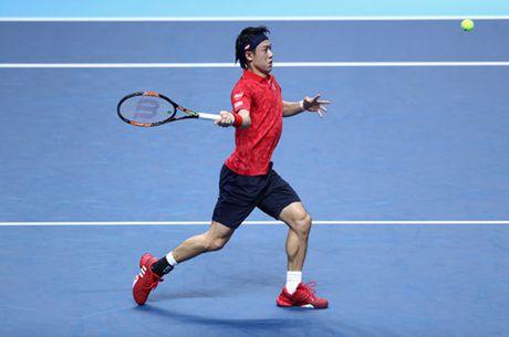 Murray va Nishikori cung thang trong tran ra quan ATP World Tour Finals 2016 - Anh 3