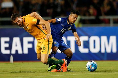 Tuyen Thai Lan cam hoa Uc o vong loai World Cup - Anh 1
