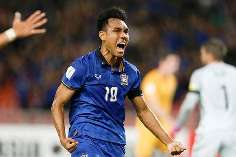 Tuyen Thai Lan cam hoa Uc o vong loai World Cup - Anh 2