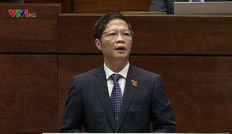 Bo truong Bo Cong Thuong tra loi chat van: Nghieng ve giai trinh hon giai phap - Anh 1