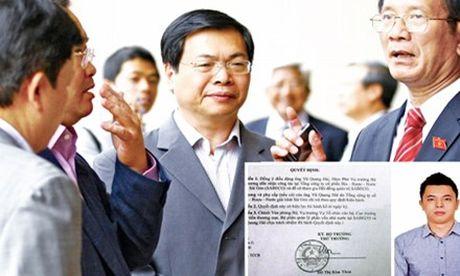 Chieu 15/11, Ban can su Dang Chinh phu hop ban phuong an ky luat ong Vu Huy Hoang - Anh 1