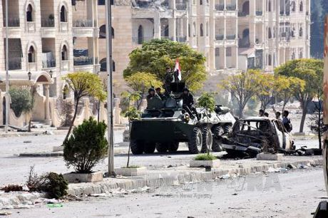 Nga va Syria chuan bi mo chien dich lon giai phong Aleppo - Anh 1