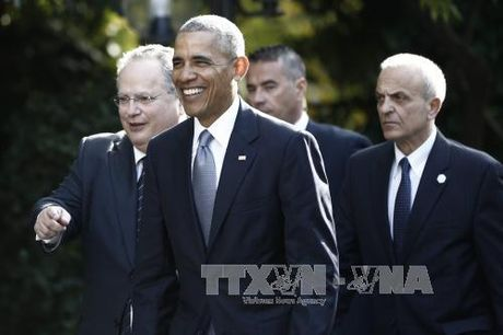 Ong Obama tai khang dinh tran trong quan he voi NATO, EU - Anh 1