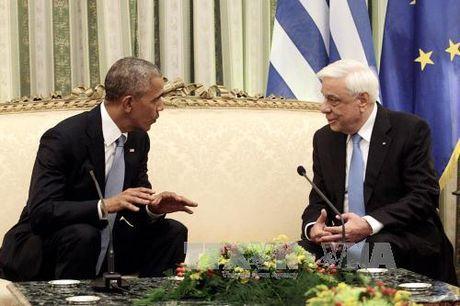 Ong Obama tai khang dinh tran trong quan he voi NATO, EU - Anh 2