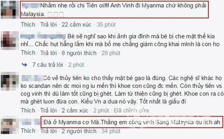 Dang status co vu Cong Vinh, Thuy Tien bi 'nhac kheo' khi nham loi nghiem trong - Anh 2