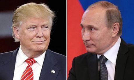 Tong thong Nga V. Putin va Tong thong My dac cu D. Trump dien dam - Anh 1