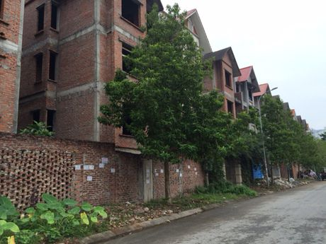 Ha Noi: Biet thu bo hoang mat gia, ban thao duoi 40 trieu dong/m2 - Anh 2