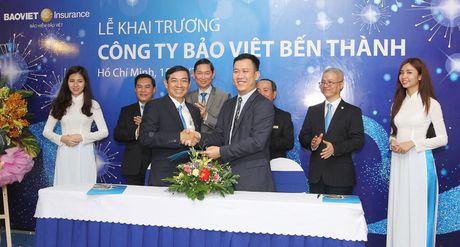 Bao hiem Bao Viet day manh 'Nam tien', khai truong Cong ty Bao Viet Ben Thanh - Anh 3
