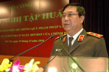 Tap huan ve cong tac Phap dien he thong quy pham phap luat - Anh 1