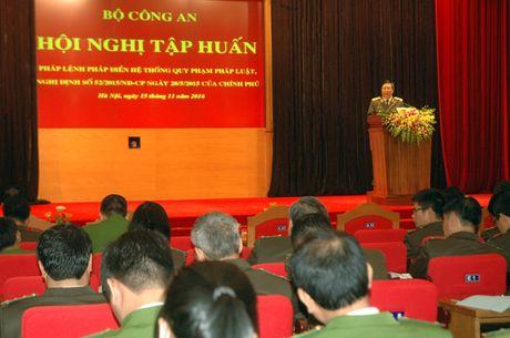 Tap huan ve cong tac Phap dien he thong quy pham phap luat - Anh 2