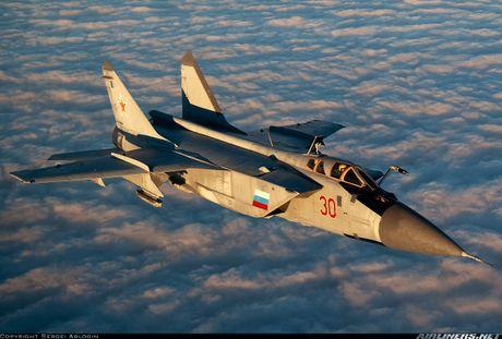 Nga thay may bay A-50 bang MiG-31 tang cuong hoat dong chong khung bo o Syria - Anh 1