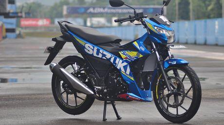 Suzuki Raider - 'vua xe con', gia 49 trieu vua ra mat tai VN co gi dac biet? - Anh 1