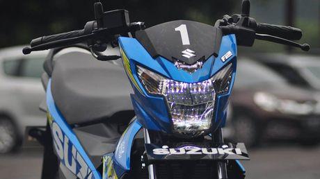 Suzuki Raider - 'vua xe con', gia 49 trieu vua ra mat tai VN co gi dac biet? - Anh 2