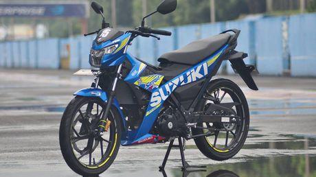 Suzuki Raider - 'vua xe con', gia 49 trieu vua ra mat tai VN co gi dac biet? - Anh 3