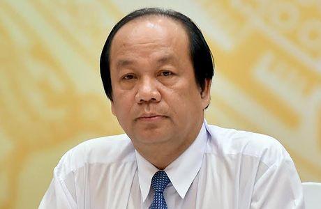 Chinh phu ban huong xu ly nguyen Bo truong Vu Huy Hoang - Anh 1