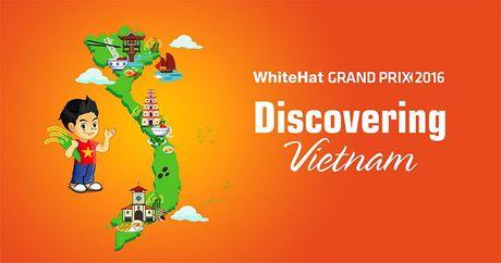 Kham pha am thuc Viet qua cuoc thi An ninh mang toan cau WhiteHat Grand Prix 2016 - Anh 1