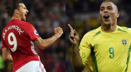 Zlatan Ibrahimovic than tuong Ronaldo - Anh 1
