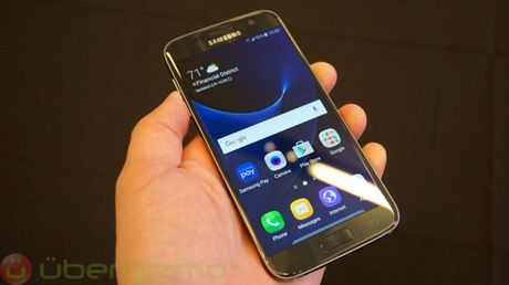 Galaxy S8 se trang bi man hinh cam ung luc dau tien tren the gioi - Anh 1