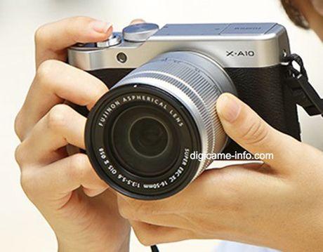 Fujifilm sap ra mat mirrorless X-A10 gia re hon X-A3 - Anh 1