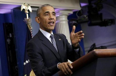 Tong thong Obama khuyen ong Trump 'giu mieng' - Anh 1