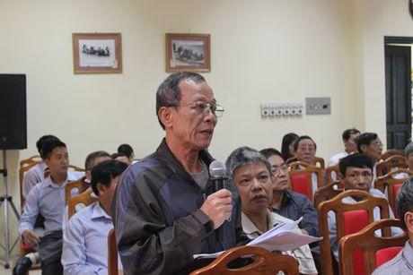 Cu tri Tay Ho kien nghi nhieu van de doi song dan sinh - Anh 1