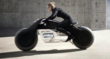 Mo to BMW Vision Next 100 den tu tuong lai - Anh 1
