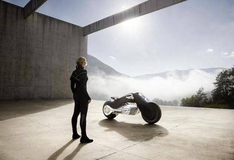 Mo to BMW Vision Next 100 den tu tuong lai - Anh 7