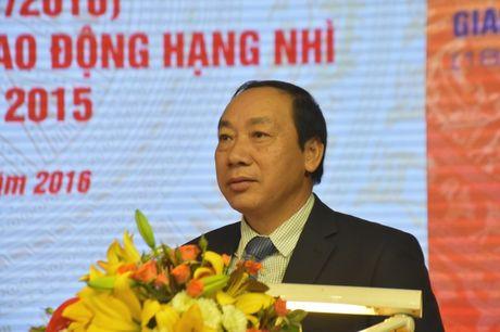 Cong doan GTVT Viet Nam don nhan Huan chuong Lao dong Hang Nhi - Anh 4