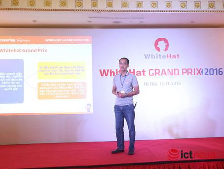 Cac doi thi an ninh mang toan cau WhiteHat Grand Prix 2016 kham pha am thuc Viet - Anh 1