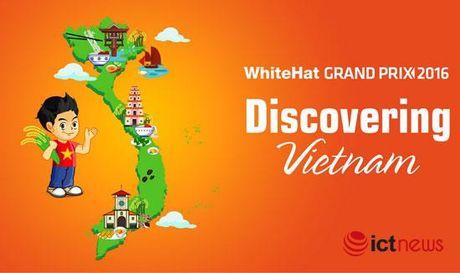 Cac doi thi an ninh mang toan cau WhiteHat Grand Prix 2016 kham pha am thuc Viet - Anh 2