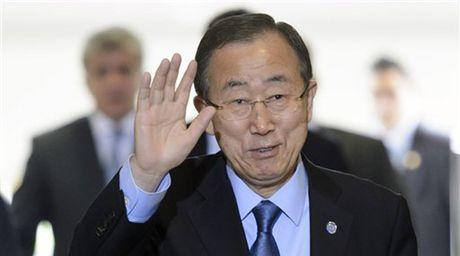 Ong Ban Ki-moon se la cuu tinh cua tong thong Han Quoc? - Anh 1