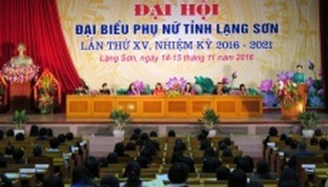 Dai hoi dai bieu phu nu tinh Lang Son lan thu 15 - Anh 1